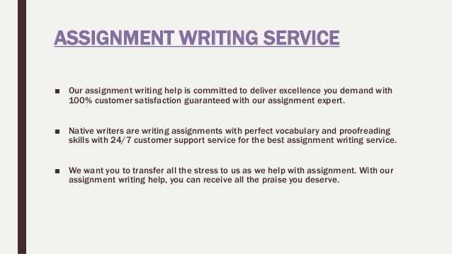 Write my customer service assignment