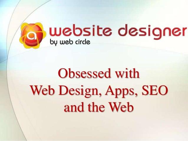 A website designer - services