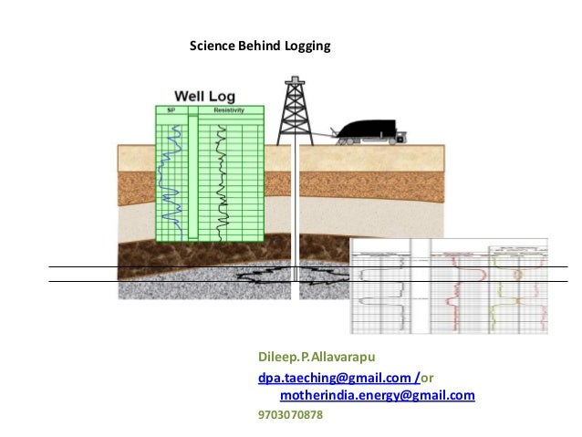 well logging tools and exercise_dileep p allavarapu