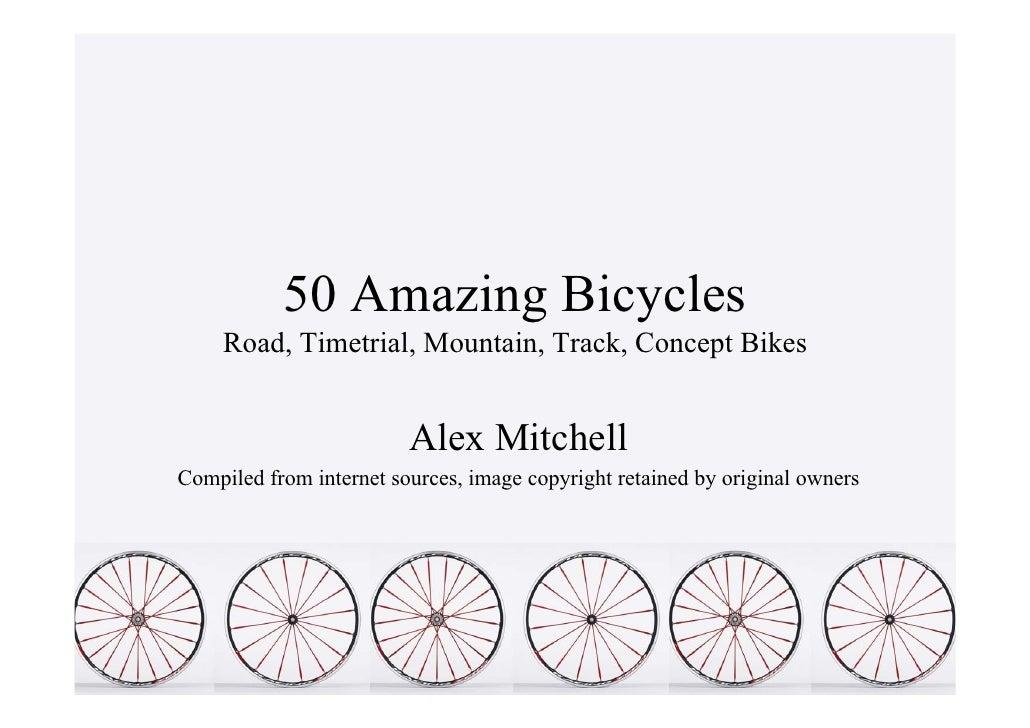 50 Amazing Bicycles