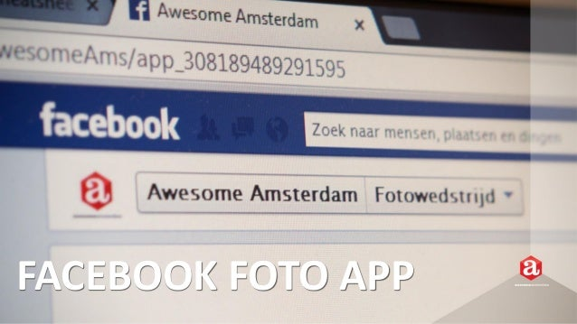 Awesome Facebook Foto App  - Engage your Fans