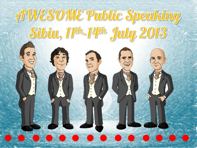 AWESOME Public Speaking