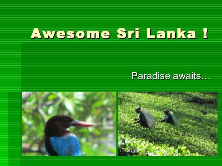 Awesome Sri Lanka