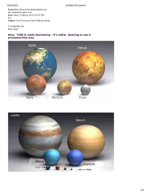 From: Babu Ganta (babu.ganta@gmail.com) To: shalem65@yahoo.com; Date: Mon, 15 March, 2010 5:14:23 PM Cc: Subject: Fwd: Awe...