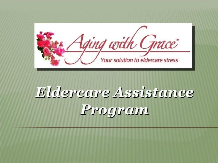 Eldercare Assistance Program