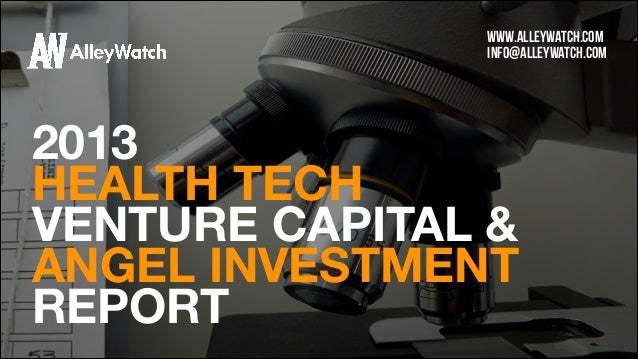 The AlleyWatch HealthTech VC and Angel Funding Report