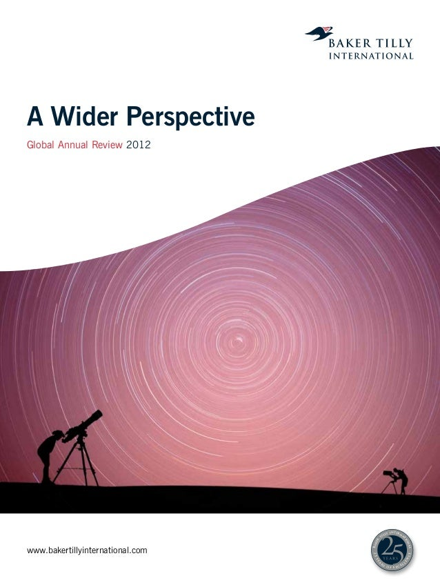 A Wider PerspectiveGlobal Annual Review 2012                                                       y i n t er n           ...