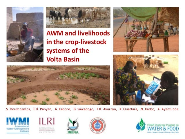 AWM and livelihoods in the crop-livestock systems of the Volta Basin S. Douxchamps, E.K. Panyan, A. Kaboré, B. Sawadogo, F...