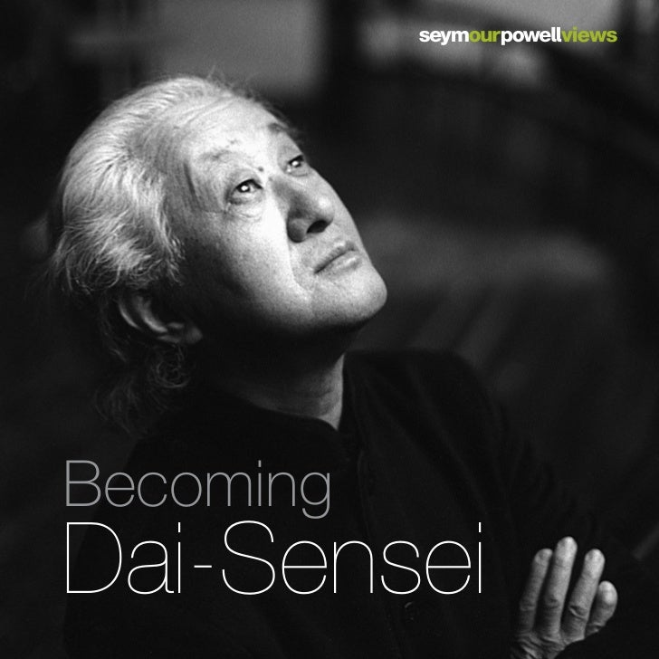 Becoming Dai-Sensei