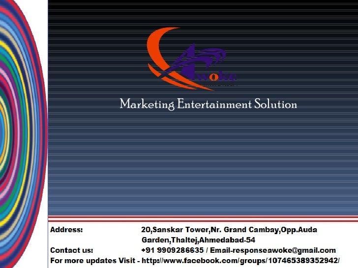 Marketing Entertainment Solution