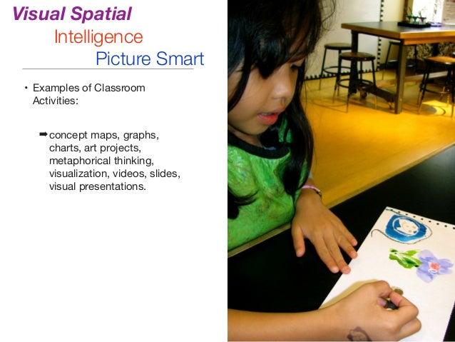 Visual spatial intelligence activities