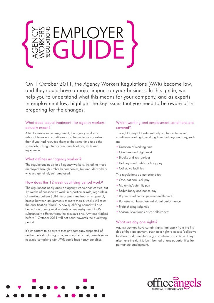 Agency Workers Regulations - Employer Guide