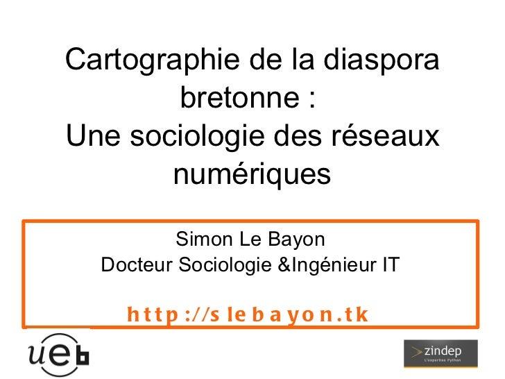 Afterwork de la recherche ; la cartographie de la diaspora bretonne