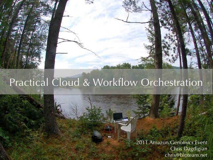 Practical Cloud & Workflow Orchestration                         2011 Amazon Genomics Event                                ...