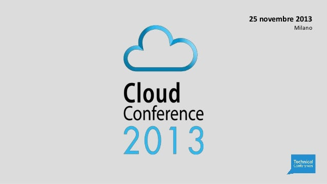 cloud conference 2013 - Infrastructure as a Service in Amazon Web Services