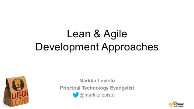 AWS Lunch and Learn - Agile Development