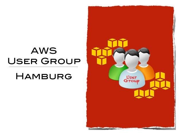 AWS User Group Hamburg User Group