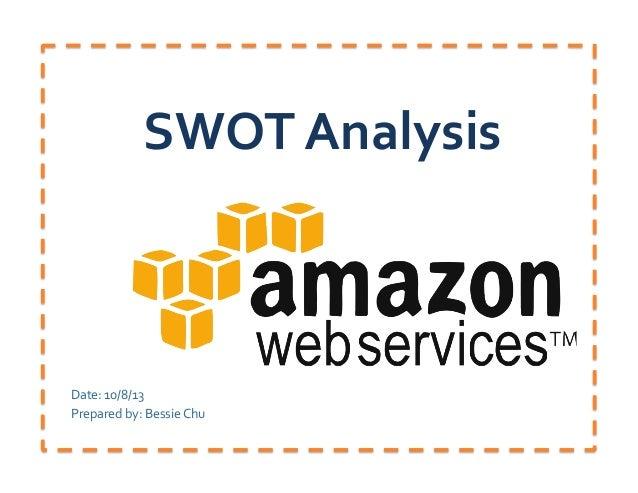 SWOT  Analysis   Date:  10/8/13   Prepared  by:  Bessie  Chu