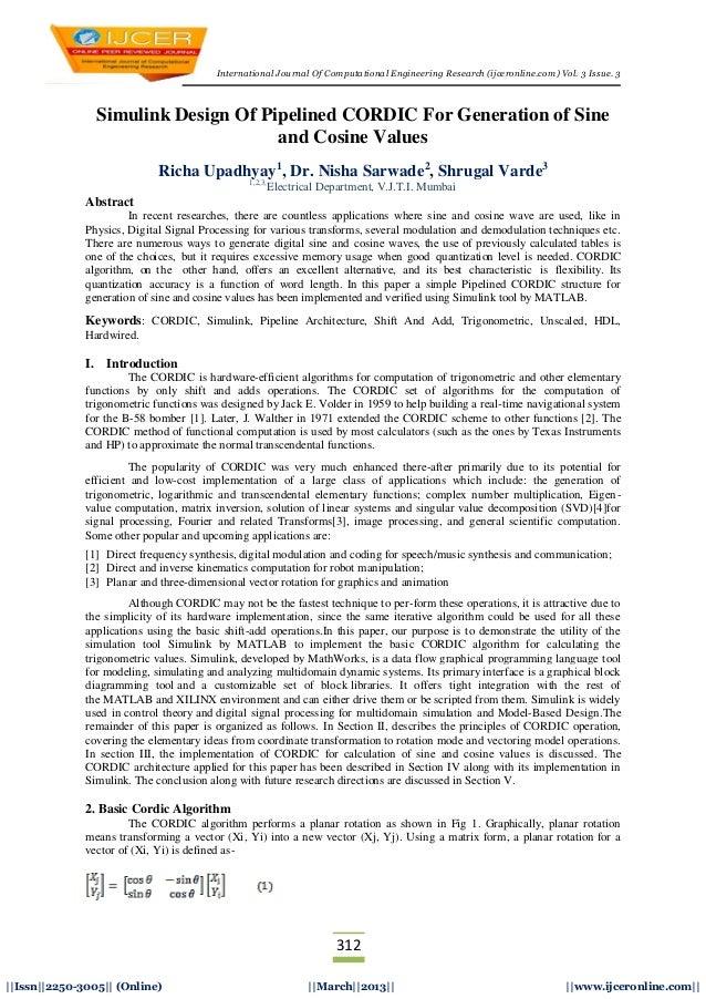International Journal Of Computational Engineering Research (ijceronline.com) Vol. 3 Issue. 3312  Issn  2250-3005   (Onlin...