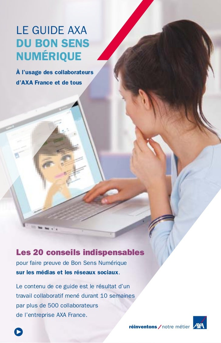 Le Guide AXA du Bon Sens Numérique