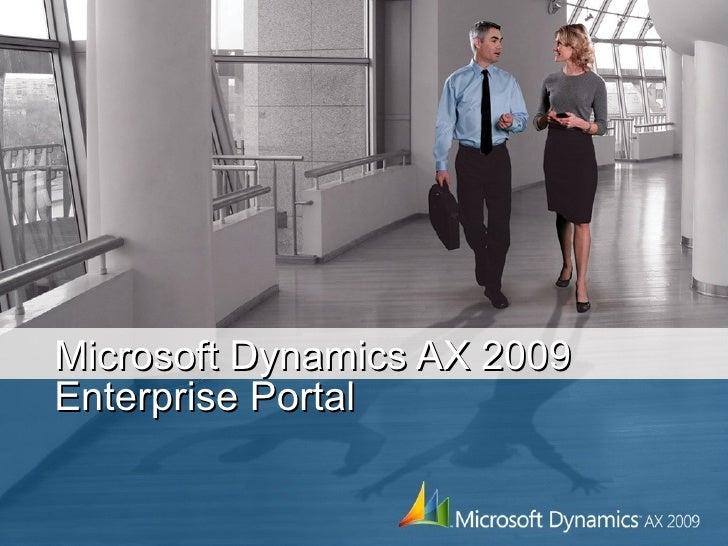 Microsoft Dynamics AX 2009 Enterprise Portal