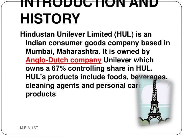 environmental analysis hindustan unilever Hindustan unilever limited - swot analysis company profile is the essential source for top-level company data and information hindustan unilever limited - swo.