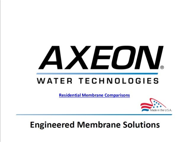 Residential Membrane Elements Manufacturer