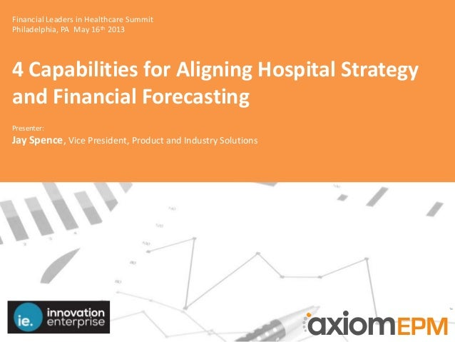Financial Leaders in Healthcare SummitPhiladelphia, PA May 16th 20134 Capabilities for Aligning Hospital Strategyand Finan...