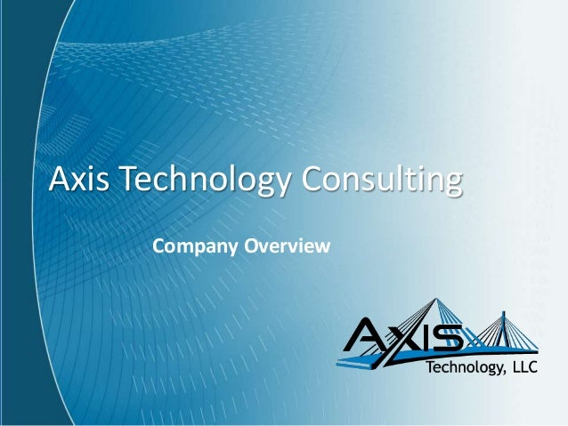 Axis technology consulting overview