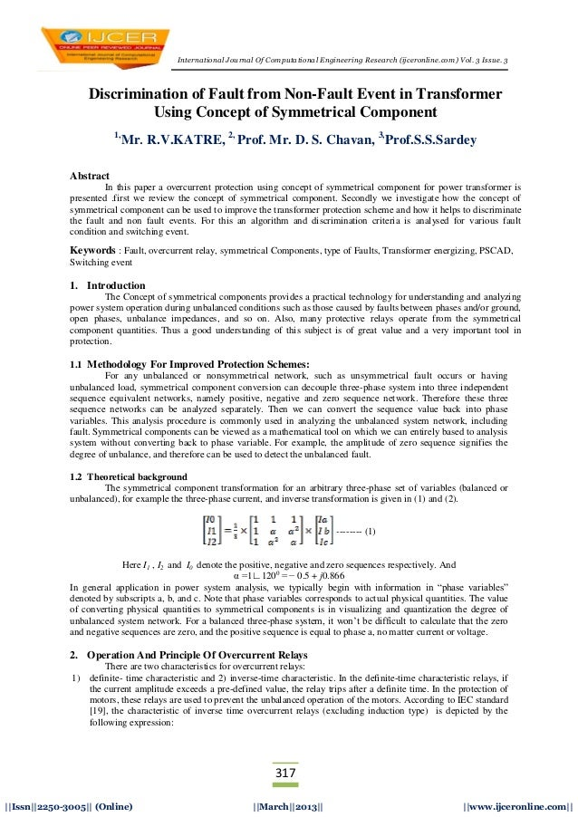 International Journal Of Computational Engineering Research (ijceronline.com) Vol. 3 Issue. 3317||Issn||2250-3005|| (Onlin...