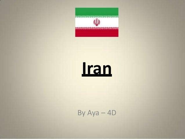 Iran By Aya – 4D