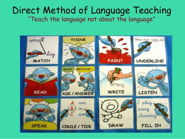 English Language Direct Method
