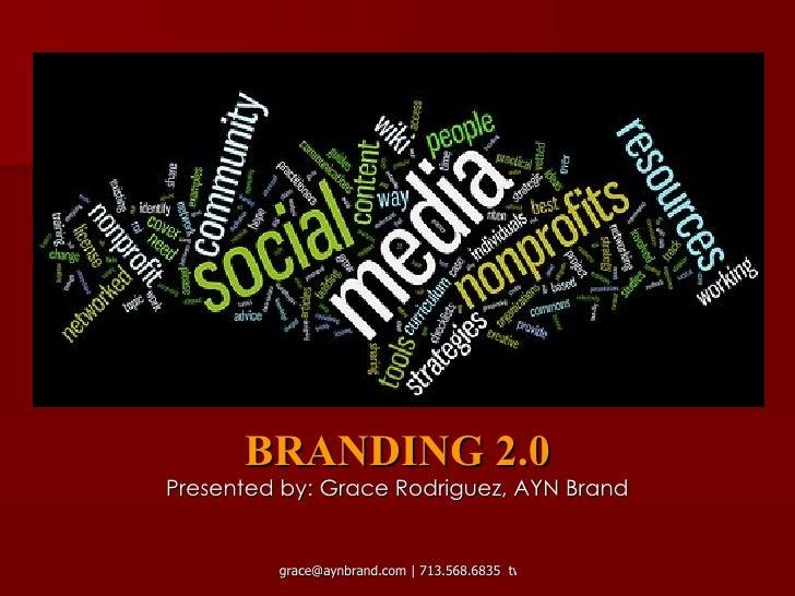 AYN Brand : Branding 2.0 Workshop
