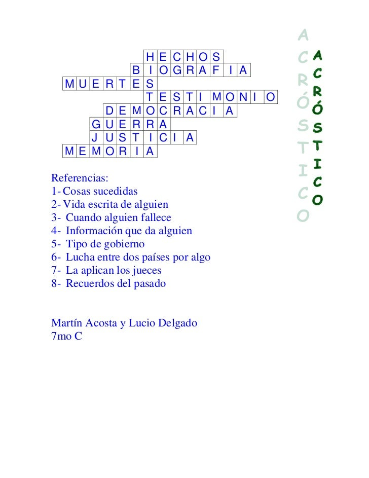 Ayo 7 Cd Acrosticos Historia 07