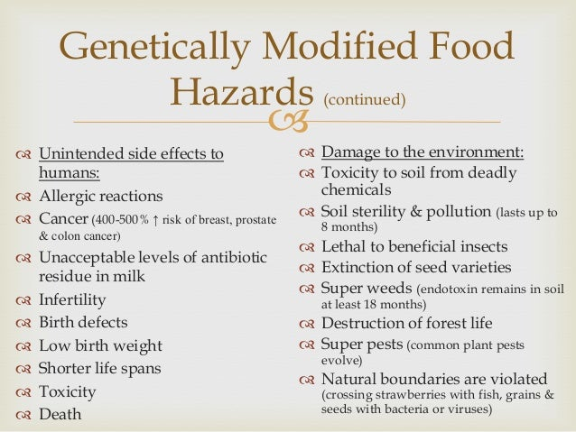 the positive and negative aspects of genetically modified food The positive and negative aspects of the use of the positive and negative aspects of genetically modified 36 food provenance 37 food preparation and.