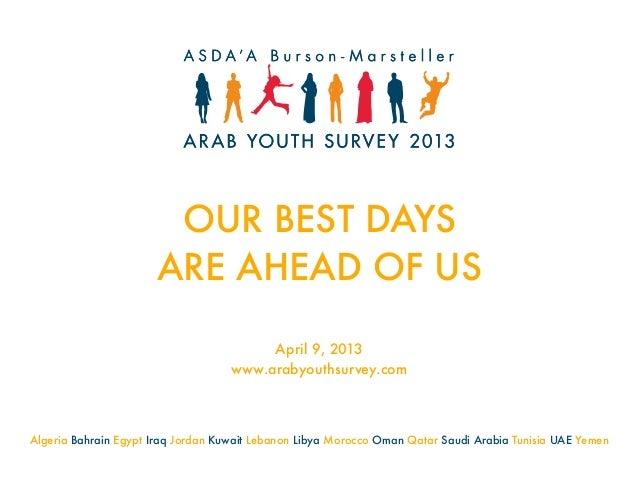 ASDA'A Burson-Marsteller Arab Youth Survey 2013