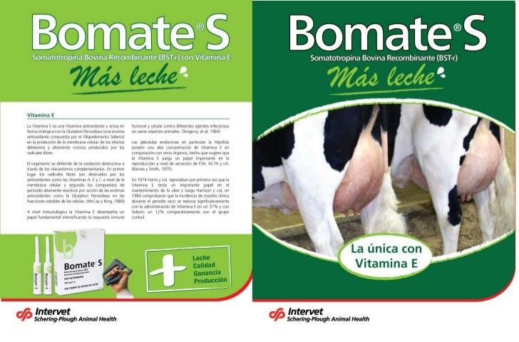 Ayudaventas bomate MSD Salud Animal Salud Lechera