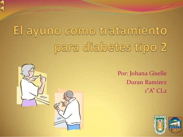 Ayuno previene diabetes