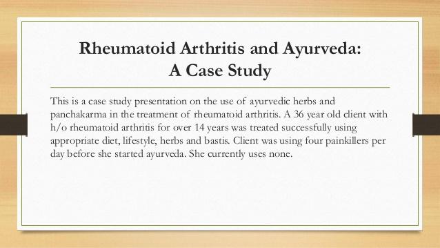 rheumatoid arthritis case study essay