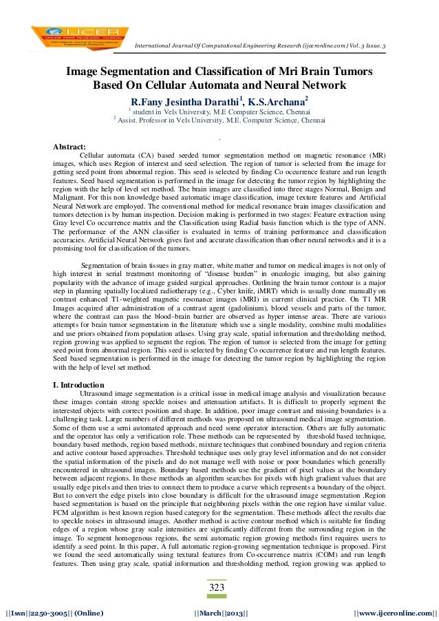 International Journal Of Computational Engineering Research (ijceronline.com) Vol. 3 Issue. 3323||Issn||2250-3005|| (Onlin...