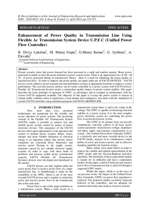 B. Divya Lakshmi et al Int. Journal of Engineering Research and Applications www.ijera.com ISSN : 2248-9622, Vol. 4, Issue...