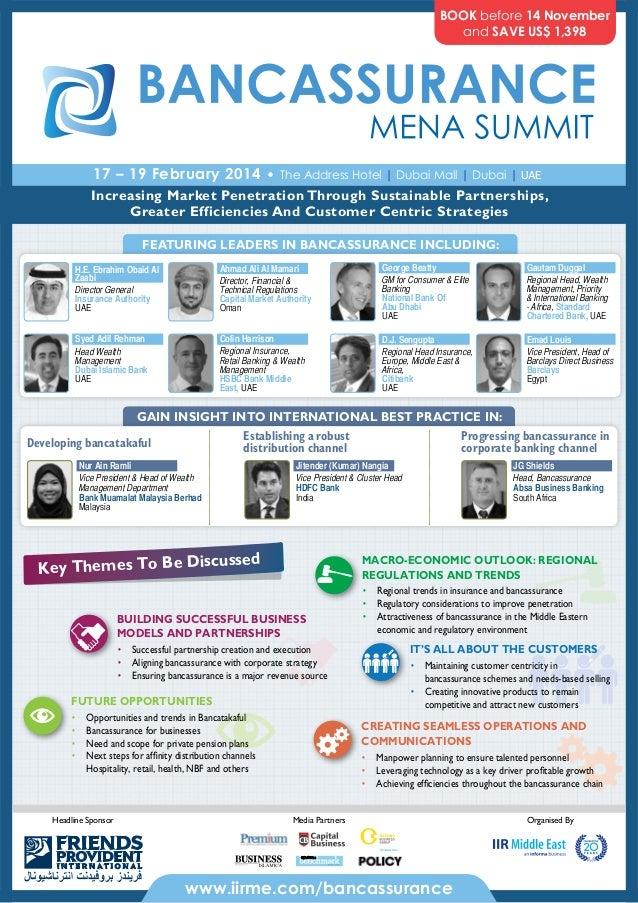 Bancassurance MENA Summit