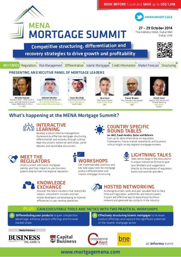 MENA Mortgage Summit 2014