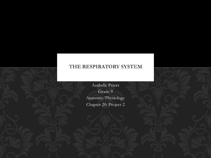 Anatomy/Physiology Slideshow: The Respiratory System