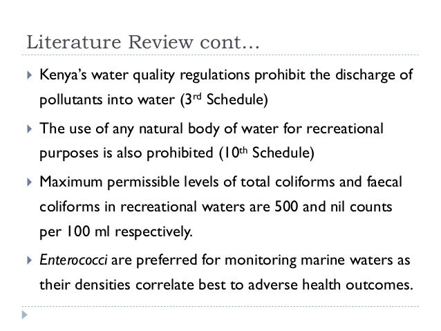literature review on industrial water pollution Review article heavy metal pollution of the yamuna river: an introspection industrial pollution in the yamuna river is.
