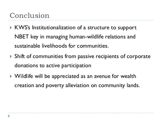 conclusion on wildlife conservation essays