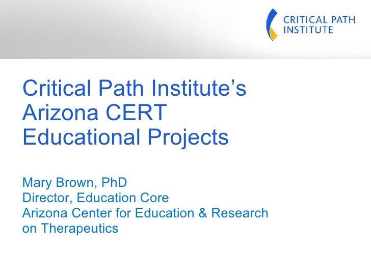 Az Cert Educational Projects Pres 08 09