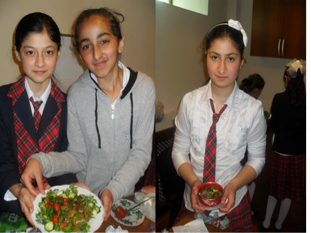 Azerbaijani cuisine is one of the most interesting for Azerbaijani cuisine