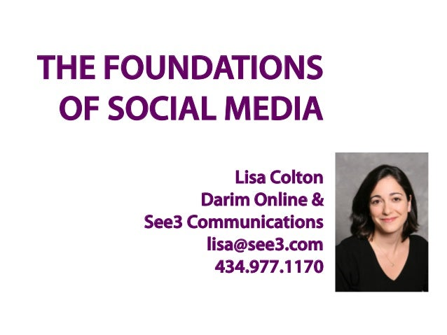 Foundations of Social Media For Arizona Leaders