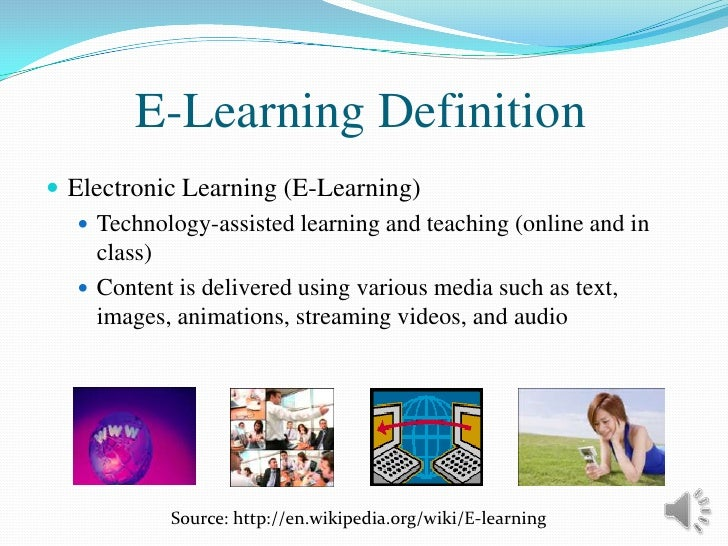 Embracing E-Learning